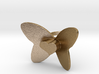 Cute Heart Butterfly Ring 3d printed