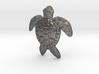 Turtle Pendant or Brooch 3d printed