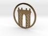 Manhattan Bridge pendant 3d printed