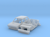 Yugo 45 with wheels and tyres 3d printed