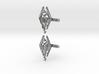 Skyrim Cufflinks 3d printed