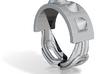 Choker Ring - Sz. 5 3d printed