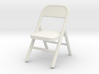 1:48 Metal Folding Chair 3d printed