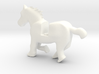 Horse running 3d printed