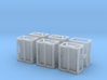 US SIXCON Fuel Container 1/144 3d printed
