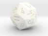 30 sided d15 3d printed