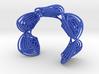 Rose Stripes Bracelet 3d printed