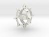 Sun Keychain Variation 3d printed