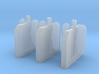 A-04E Ticket Barriers Extensions 3d printed
