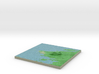 Terrafab generated model Mon Aug 11 2014 10:09:43  3d printed