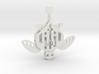 Mechanical Sea Turtle Ornament   3d printed