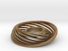 Misaligned Rings 3d printed