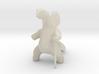 Brontosaurus Spork 3d printed