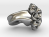 Ring with buds 3d printed