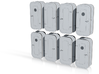 1:48 Watertight Doors - multiple versions - 16 ea 3d printed