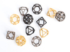 Polyhedral Jewelry: Cuboctahedron 3d printed