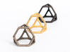 Polyhedral Jewelry: Truncated Tetrahedron 3d printed