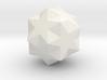 Small Ditrigonal Icosidodecahedron 3d printed