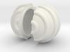 Yin Yang Curve on Sphere 3d printed