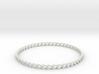 Bracelet Stainless 3d printed