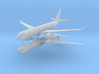 1/700 Airbus A330-300 Commercial Aircraft (x2) 3d printed