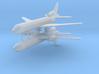 1/700 Lockheed L-1011-500 TriStar (x2) 3d printed