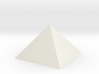 Great Pyramid 1:4800 3d printed