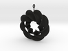 roter plow earring 1 3d printed