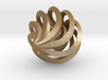 Spiral Cage Ornament, Nested Pendant 3d printed