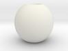 simple sphere 3d printed