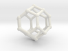 Truncated octahedron 3d printed