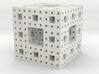 Menger sponge - 3 steps 3d printed