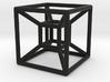 Hyper Cube 4D 3d printed