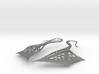 Wing Earrings 3d printed