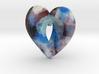 Fractal Heart Bauble 4 3d printed