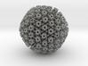 Herpes Simplex Virus capsid 400k x magnification 3d printed