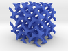 Double Gyroid Cube 3d printed