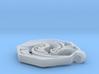Dragon Pendant (Octagon) 3d printed
