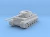 King Tiger Tank 3d printed