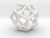 Deltoidal icositetrahedron 3d printed