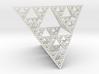 Sierpinski tetrahedron level 5 3d printed