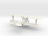 Biplane - Z scale 3d printed