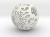 Moroccan Ball 7.1 small 3d printed