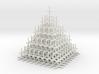 Mesh Pyramid 3d printed
