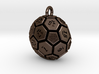32-BIT SOCCER BALL DIE PENDANT 3d printed
