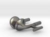 Earbud Cufflinks 3d printed