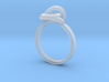 Eye ring 3d printed