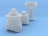 SAR_X_domes 3d printed