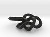small 8-19 torus knot 3d printed
