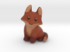 Fox Cub Miniature (Color) 3d printed